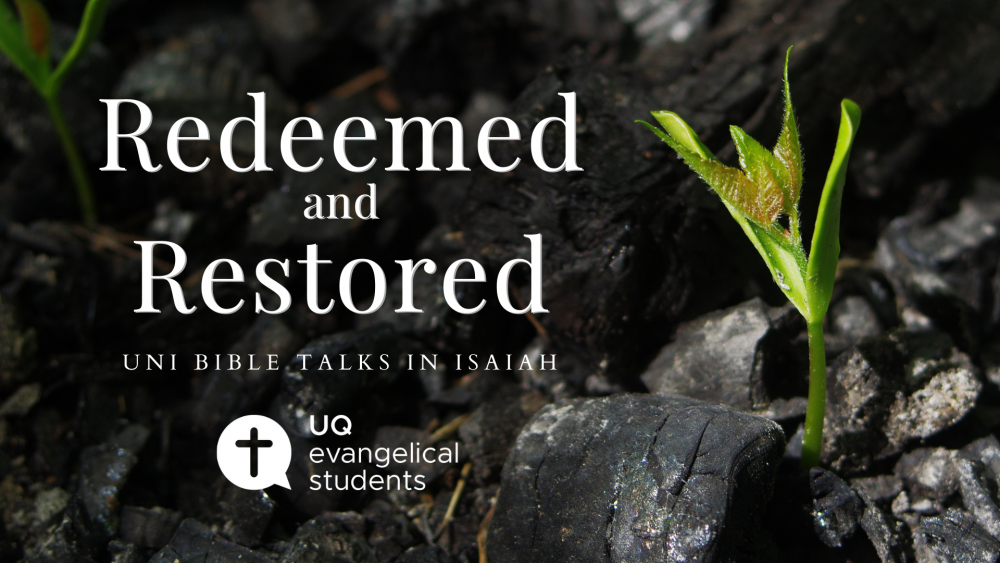 Redeemed and Restored